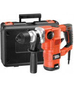 BLACK&DECKER KD1250K-QS SDS-Plus, 1250Вт, 3.5Дж, 850об/мин.