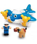 Полицейский самолет Пит WOW Toys