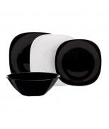 Сервиз LUMINARC CARINE BLACK&WHITE, 19 предметов